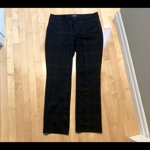 NYDJ plaid trouser, like new condition- size 10.